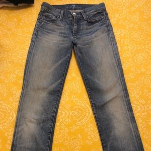 7 for all mankind woman's jeans size 24